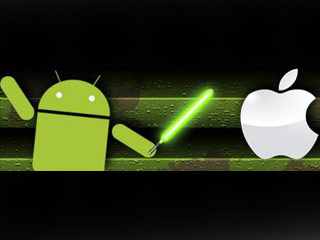 When Google bought Motorola Mobility, it also inherited a legal dispute with Apple. (Image courtesy of Digital Trends)