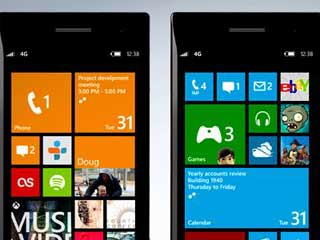 A look at the Microsoft Windows Phone 8. (Image courtesy of Digital Trends)