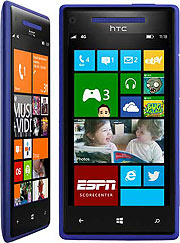 The HTC Windows Phone 8X (©Microsoft)