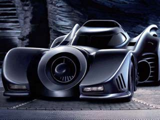 The Batmobile has taken on many guises over the years, including the winged wonders from Tim Burton's films. (Image courtesy of Digital Trends)