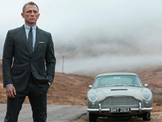 Marking its third appearance in the Bond franchise, the iconic Aston Martin DB5 is back. (Image courtesy of Digital Trends)