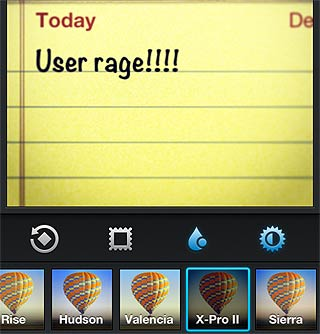 What filter goes best with user rage? (Image courtesy of Digital Trends)