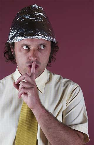 If all else fails, a tinfoil hat might just save you. (©iStockphoto/Thinkstock)