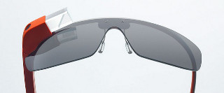 Google Glass will be available in five colors: Sky, Charcoal, Tangerine, Cotton and Shale. (Image courtesy of Digital Trends)