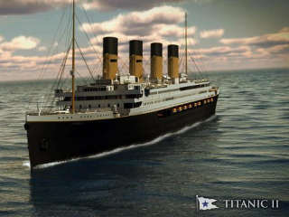 Billionaire unveils plans for Titanic replica, can't promise it won't sink