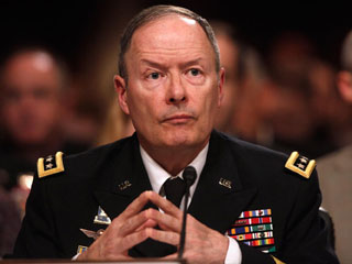 General Keith Alexander, Director of the NSA (Image courtesy of Digital Trends)