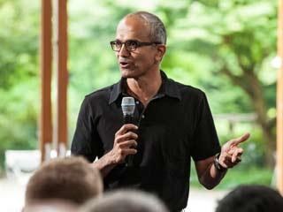 Microsoft CEO Satya Nadella (Microsoft)