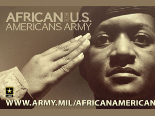 There are 2.4 million black military veterans in the United States in 2010 (© US Army)