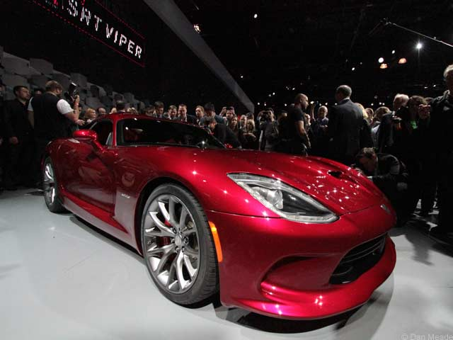 The 2013 SRT Viper (photos &amp;copy; Dan Meade)