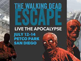 To celebrate The Walking Dead #100, San Diego's Petco Park will be turned into a zombie infested evacuation zone. (&amp;copy;PRNewsFoto/The Walking Dead Escape: San Diego)