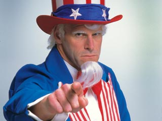 Uncle Sam wants you... to join his political party. (©iStockphoto/Thinkstock)