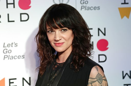 (AP Photo/Frank Franklin II, File). FILE - In this April 12, 2018 file photo, Italian actress and director Asia Argento arrives at the ninth annual Women in the World Summit in New York. Argento, one of the most prominent activists of the #MeToo moveme...