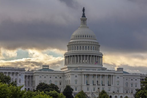 (AP Photo/J. Scott Applewhite, File). FILE - This Wednesday, Aug. 1, 2018, file photo shows the Capitol in Washington. As a potentially catastrophic hurricane heads for the Carolinas, Congress is moving to avert a legislative disaster that could lead t...