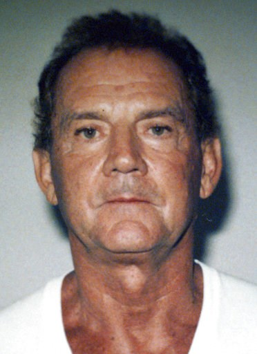 "(Federal Bureau of Investigation via AP, File). FILE - This 1995 file photo taken in West Palm Beach, Fla., and released by the FBI shows Francis P. ""Cadillac Frank"" Salemme, convicted of killing a nightclub owner in 1993. Salemme faces life in prison ..."