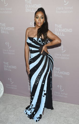 (Photo by Evan Agostini/Invision/AP). La La Anthony attends the 4th annual Diamond Ball at Cipriani Wall Street on Thursday, Sept. 13, 2018, in New York.