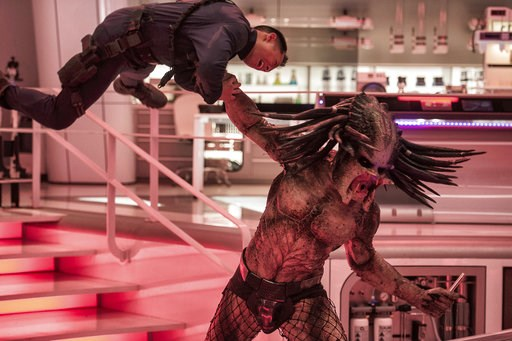 "(Kimberley French/20th Century Fox via AP). This image released by 20th Century Fox shows a scene from ""The Predator."""