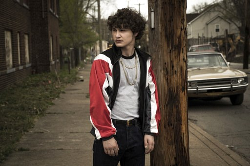"(Scott Garfield/Sony/Columbia Pictures and Studio 8 via AP). This image released by Sony Pictures shows Richie Merritt in a scene from ""White Boy Rick."""