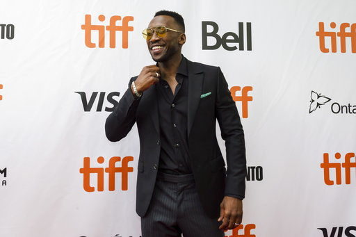 "(Christopher Katsarov/The Canadian Press via AP). Actor Mahershala Ali arrives ahead of the screening of ""Green Book"" during the Toronto International Film Festival in Toronto, on Tuesday, Sept. 11, 2018."
