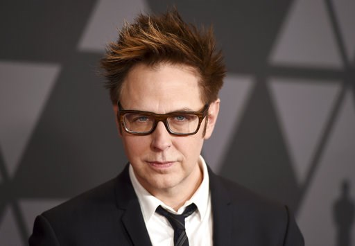 (Photo by Jordan Strauss/Invision/AP, File). FILE - In this Nov. 11, 2017 file photo, director James Gunn arrives at the 9th annual Governors Awards in Los Angeles. Warner Bros. on Tuesday confirmed that Gunn will write the script to the studio's next ...