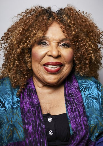 (Photo by Matt Licari/Invision/AP). In this Oct. 10, 2018 photo, singer Roberta Flack poses for a portrait in New York. The 81-year-old music legend will be honored Saturday, Oct. 13, 2018, with a lifetime achievement award by the Jazz Foundation of Am...