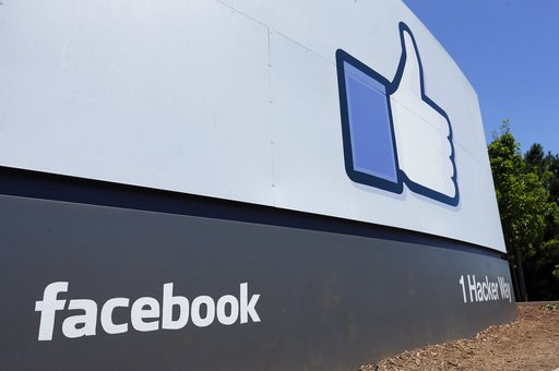 (AP Photo/Ben Margot, File). FILE - This July 16, 2013 file photo shows a sign at Facebook headquarters in Menlo Park, Calif. Facebook says hackers accessed data from 29 million accounts as part of the security breach disclosed two weeks ago.