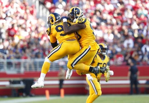 Rams still top AP Pro32 poll Patriots Chiefs tied at No