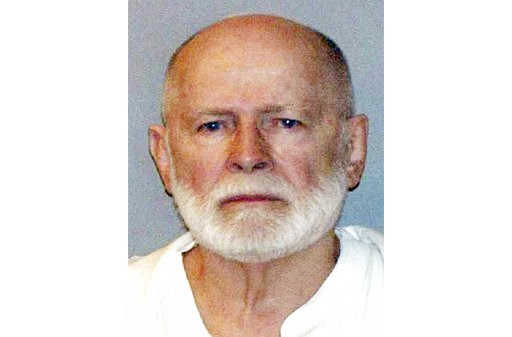 "(U.S. Marshals Service via AP, File). FILE - This June 23, 2011, file booking photo provided by the U.S. Marshals Service shows James ""Whitey"" Bulger. Officials with the Federal Bureau of Prisons said Bulger died Tuesday, Oct. 30, 2018, in a West Virgi..."