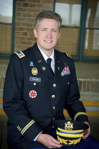 (Courtesy of Utah National Guard via AP). This undated photo provided by the Utah National Guard shows Maj. Brent Taylor of the Utah National Guard. Taylor, former mayor of North Ogden, died in Afghanistan on Saturday, Nov. 3, 2018, City Councilman Phi...
