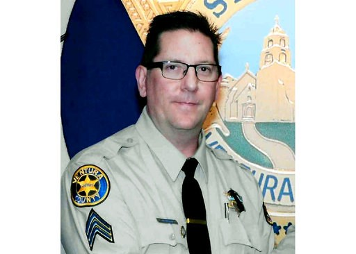 (Ventura County Sheriff's Department via AP). This undated photo provided by the Ventura County Sheriff's Department shows Sheriff's Sgt. Ron Helus, who was killed Wednesday, Nov. 7, 2018, in a deadly shooting at a country music bar in Thousand Oaks, C...