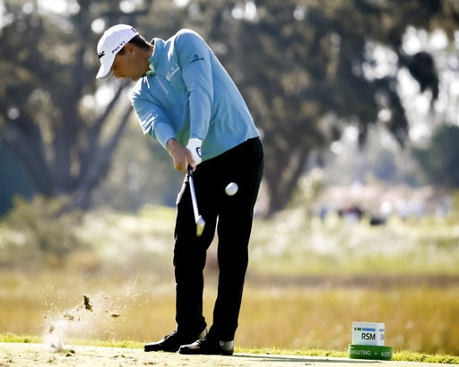 (AP Photo/Stephen B. Morton). Charles Howell III hits off the third tee during the third round of the RSM Classic golf tournament on Saturday, Nov. 17, 2018, in St. Simons Island, Ga.
