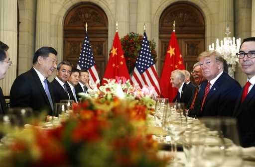 (AP Photo/Pablo Martinez Monsivais). President Donald Trump with China's President Xi Jinping during their bilateral meeting at the G20 Summit, Saturday, Dec. 1, 2018 in Buenos Aires, Argentina.