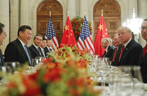 (AP Photo/Pablo Martinez Monsivais). President Donald Trump meets with China's President Xi Jinping during their bilateral meeting at the G20 Summit, Saturday, Dec. 1, 2018 in Buenos Aires, Argentina.