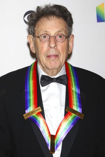 (Photo by Greg Allen/Invision/AP). 2018 Kennedy Center honoree Philip Glass attends the 41st Annual Kennedy Center Honors at The Kennedy Center on Sunday, Dec. 2, 2018, in Washington.