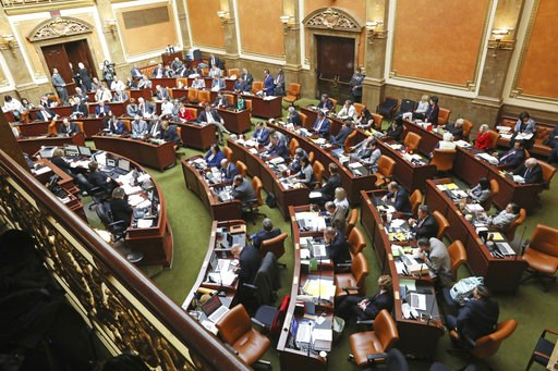 (AP Photo/Rick Bowmer). The Utah Legislature goes into session Monday, Dec. 3, 2018, in Salt Lake City. Utah lawmakers are meeting to consider changes to a voter-approved ballot initiative legalizing medical marijuana in a move that has generated backl...