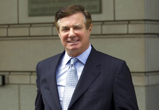 (AP Photo/Jose Luis Magana, File). FILE - In this May 23, 2018, file photo, Paul Manafort, President Donald Trump's former campaign chairman, leaves the Federal District Court after a hearing, in Washington. Spinning off from the special counsel's Russ...
