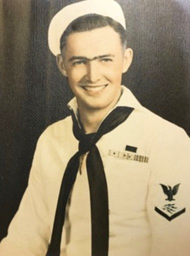 (Don Long via AP). This photo provided by retired U.S. Navy Cmdr. Don Long shows Long in his Navy uniform in 1943. Long wasn't at Pearl Harbor when Japanese warplanes bombed Hawaii on December 7, 1941 - he was on the opposite side of Oahu aboard an anc...