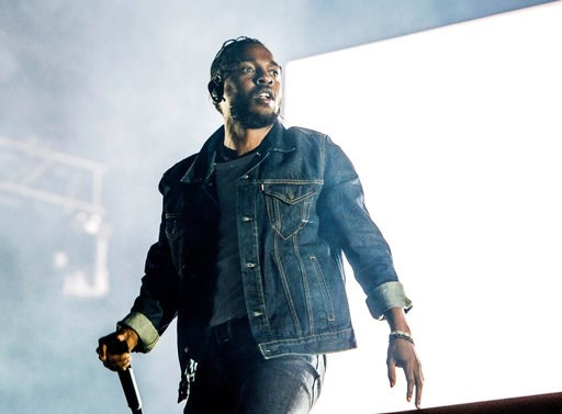 (Photo by Amy Harris/Invision/AP, File). FILE - In this July 7, 2017, file photo, Kendrick Lamar performs during the Festival d'ete de Quebec in Quebec City, Canada. A list of nominees in the top categories at the 2019 Grammys, including Lamar, who is ...