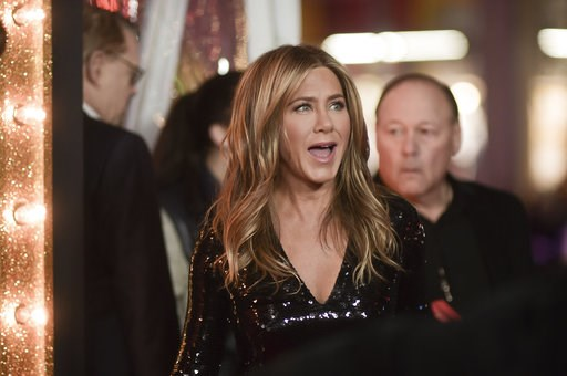 """(Photo by Richard Shotwell/Invision/AP). Jennifer Aniston attends the world premiere of """"Dumplin'"""" at TCL Chinese Theatre on Thursday, Dec. 6, 2018, in Los Angeles."""