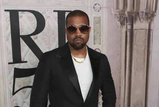 (Photo by Brent N. Clarke/Invision/AP, File). FILE - In this Sept. 7, 2018, file photo, Kanye West attends the Ralph Lauren 50th Anniversary Event held at Bethesda Terrace in Central Park during New York Fashion Week in New York. Kanye West surprised f...