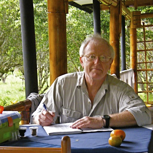 (Mary Liz Jameson via AP). CORRECTS BYLINE TO MARY LIZ JAMESON - This January 2012 photo provided by entomologist Brett Ratcliffe in December 2018 shows him in Chanchamayo, Peru. Ratcliffe named three of his eight newest beetle discoveries after the dr...