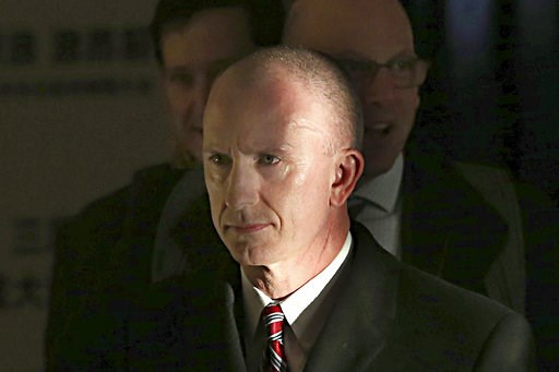 (AP Photo/Ng Han Guan). Deputy U.S. trade representative, Jeffrey D. Gerrish who is leading a U.S. trade delegation leaves from a hotel for a second day of meetings with Chinese officials in Beijing, China, Tuesday, Jan. 8, 2019. Facing a March deadlin...