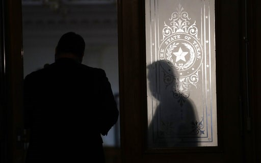 (AP Photo/Eric Gay). Visitors and guests enter the House Chamber at the Texas State Capitol for the beginning of the 86th Texas Legislative session, Tuesday, Jan. 8, 2019, in Austin, Texas.