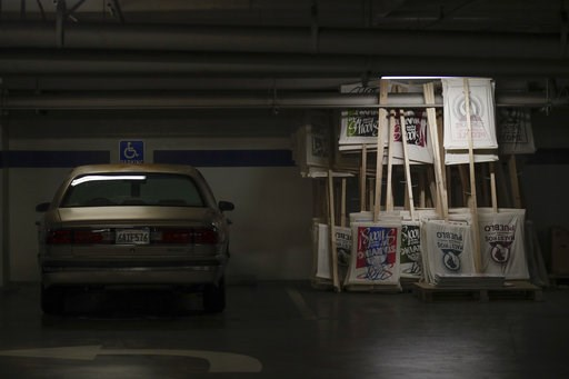(AP Photo/Jae C. Hong). Picket signs are stacked in the basement of United Teachers Los Angeles union headquarters in Los Angeles Tuesday, Jan. 8, 2019. Teachers in Los Angeles, whose 640,000 students make it the nation's second-largest school district...