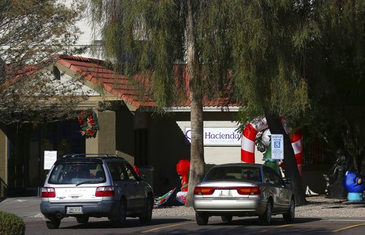 (AP Photo/Ross D. Franklin). This Friday, Jan. 4, 2019, photo shows Hacienda HealthCare in Phoenix. The revelation that a Phoenix woman in a vegetative state recently gave birth has prompted Hacienda HealthCare CEO Bill Timmons to resign, putting a spo...