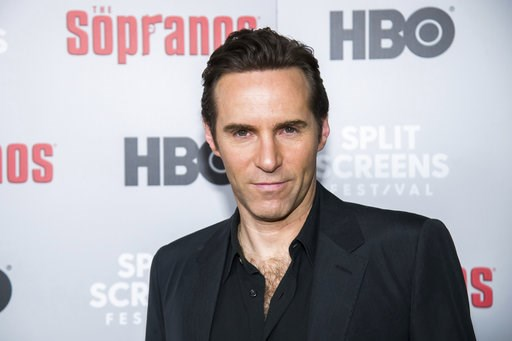 """(Photo by Charles Sykes/Invision/AP). Alessandro Nivola attends HBO's """"The Sopranos"""" 20th anniversary at the SVA Theatre on Wednesday, Jan. 9, 2019, in New York."""