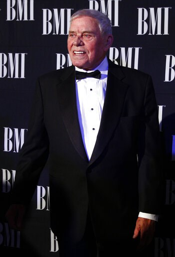 (Photo by Wade Payne/Invision/AP, File). FILE - In this Oct. 30, 2012 file photo, Tom T. Hall arrives at the 60th Annual BMI Country Awards in Nashville, Tenn. Missy Elliott is making history as the first female rapper inducted into the Songwriters Hal...