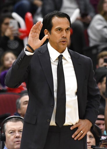 the heat leader spoelstra passes riley on miami games list. Black Bedroom Furniture Sets. Home Design Ideas