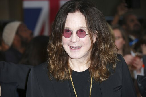 (Photo by Joel Ryan/Invision/AP, File). FILE - In this Sept. 28, 2015 file photo, Ozzy Osbourne poses for photographers upon arrival at the Pride of Britain Awards 2015 in London.  ocker Ozzy Osbourne is in a hospital. Sharon Osbourne wrote on Twitter ...