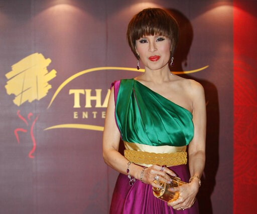 (AP Photo/Kin Cheung, File). FILE - In this March 24, 2010, file photo, Thai Princess Ubolratana poses for a photo at the Thai Gala Night in Hong Kong. Thai Raksa Chart party selected Friday, Feb. 8, 2019, the princess as its nominee to serve as the ne...