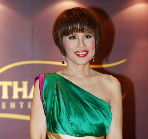 (AP Photo/Kin Cheung, File). FILE - In this March 24, 2010, file photo, Thai Princess Ubolratana attends the Thai Gala Night in Hong Kong. Thai Raksa Chart party selected Friday, Feb. 8, 2019, the princess as its nominee to serve as the next prime mini...